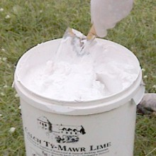 S. Stephens Plastering - Lime putty