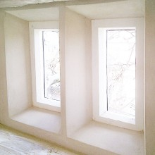 S. Stephens Plastering - Mullion windows